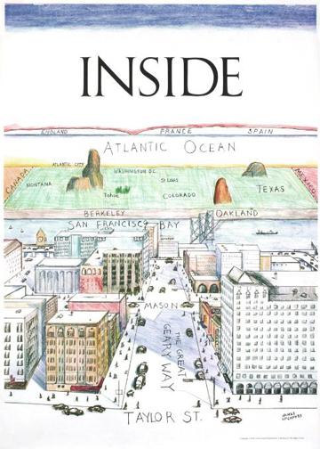 James McCaffrey-Inside San Francisco-1978 Poster